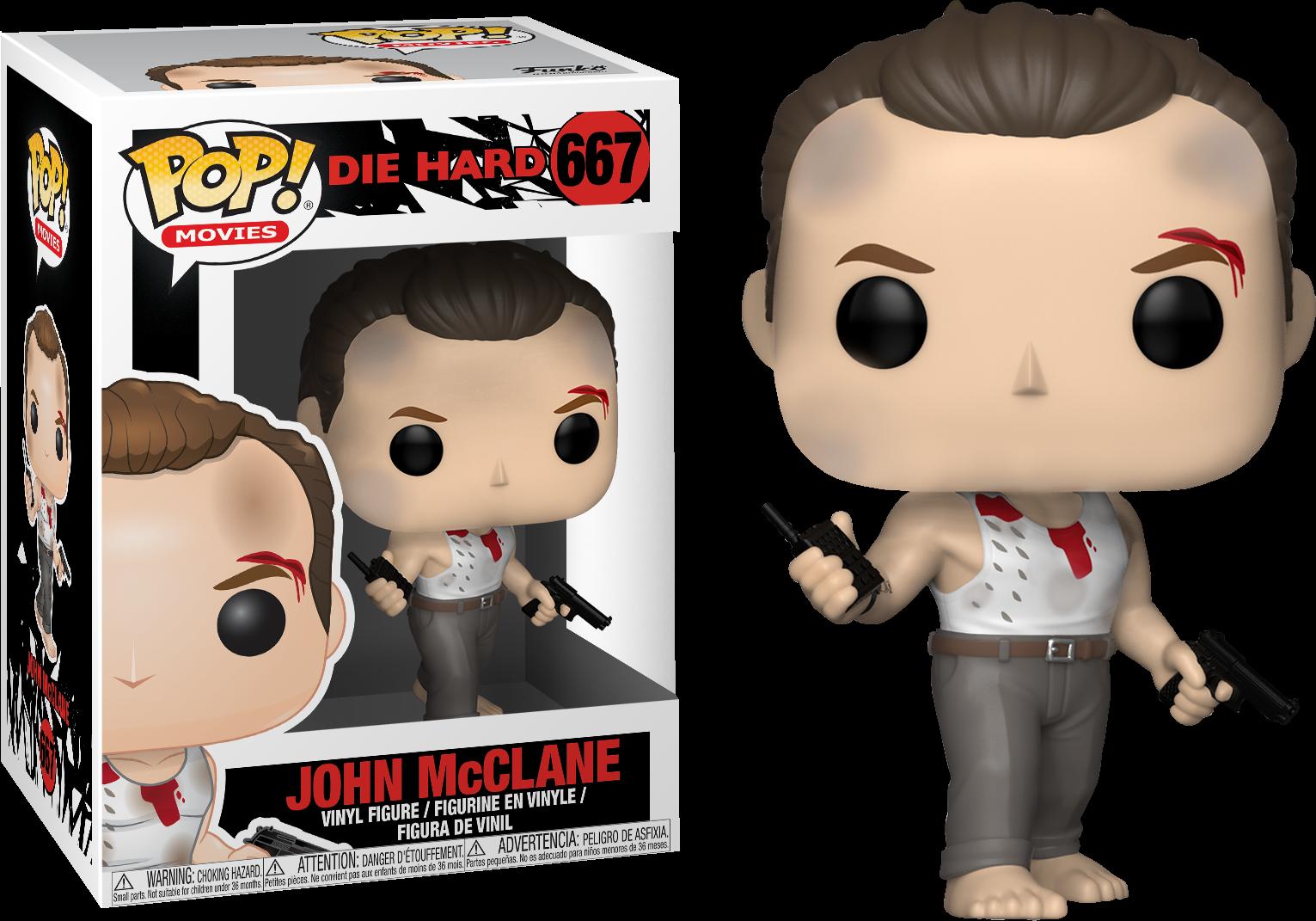 Die Hard John Mcclane Funko Pop Vinyl Figure Pop