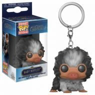 FANTASTIC BEASTS 2 THE CRIMES OF GRINDELWALD - BABY NIFFLER BLACK AND WHITE - FUNKO KEYCHAIN VINYL FIGURE