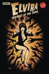 Elvira Mistress Of The Dark Vol 2 #2 Robert Hack Variant Cover