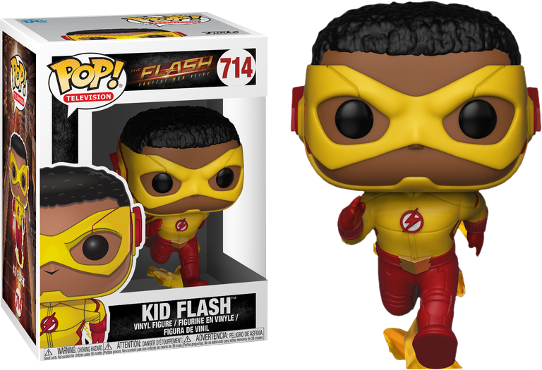 The Flash Tv Series Kid Flash Funko Pop Vinyl Figure