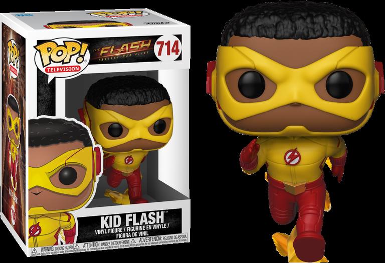 pop Funko Vinyl Flash Kid Flash Pop