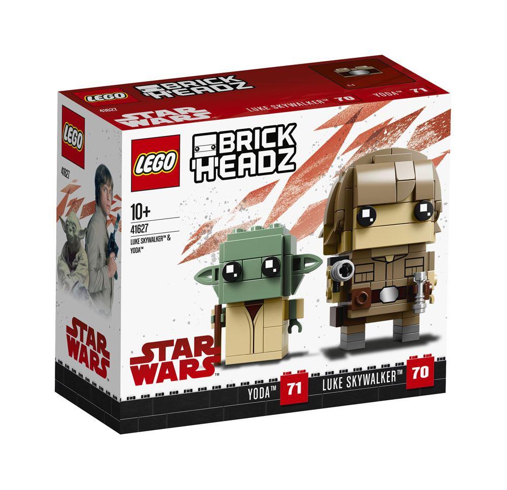 Lego Brickheadz Star Wars Episode V Luke Skywalker Yoda Pop