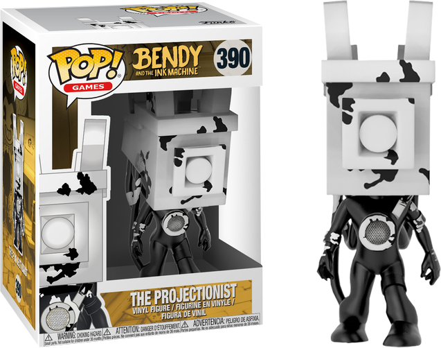 Bendy And The Ink Machine The Projectionist Funko Pop