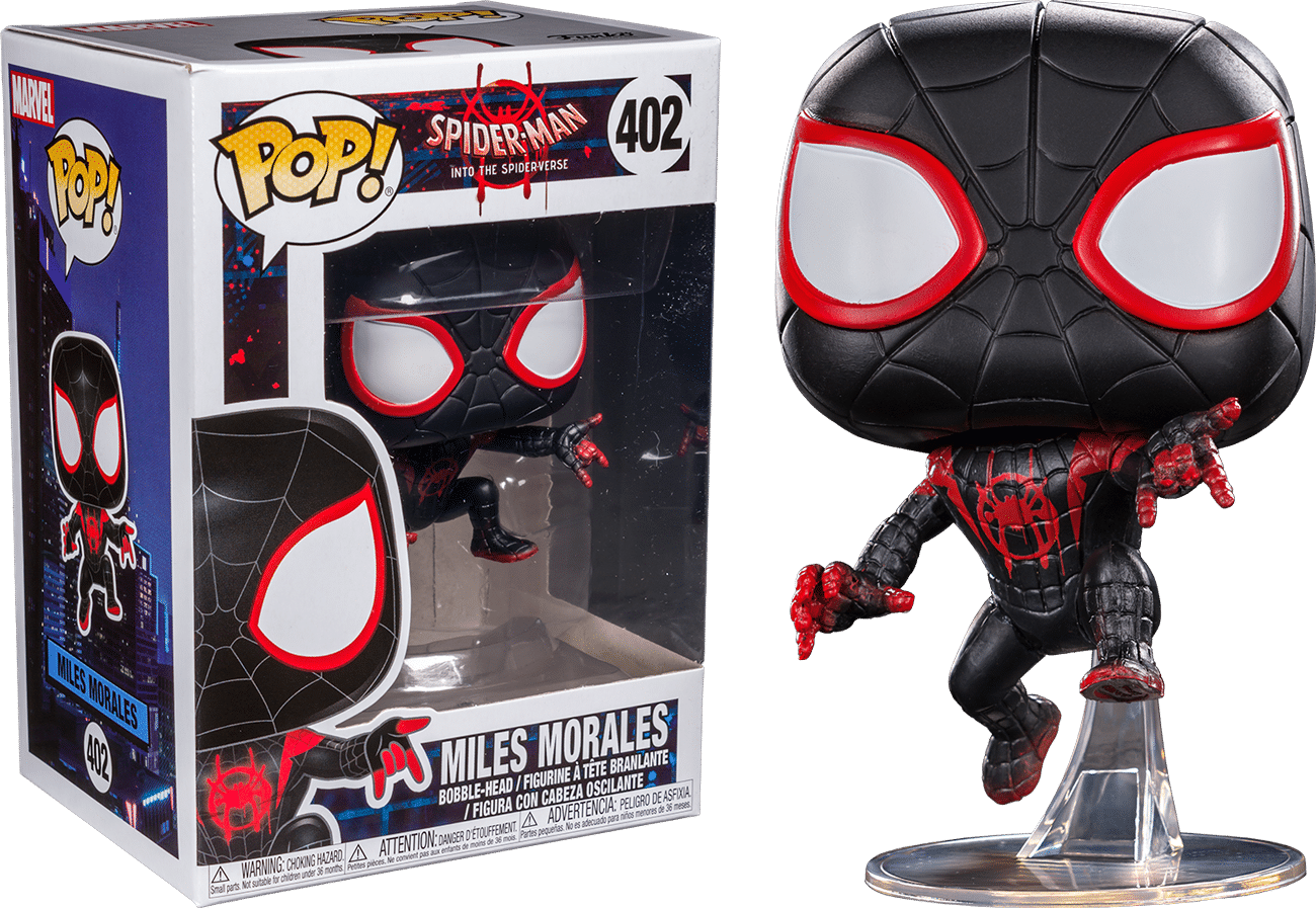 Spider Man Into The Spider Verse Miles Morales As