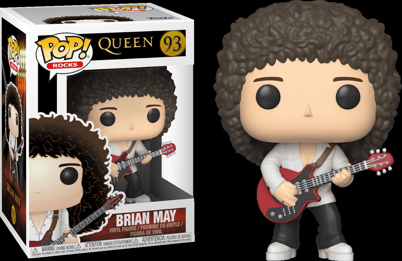 Rocks Queen Brian May Funko Pop Vinyl Figure Pop