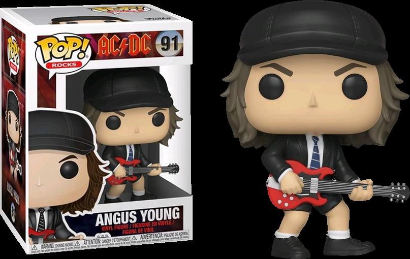 Neuf 91 Angus Young AC//DC Figurine Funko Pop Rocks Vinyl