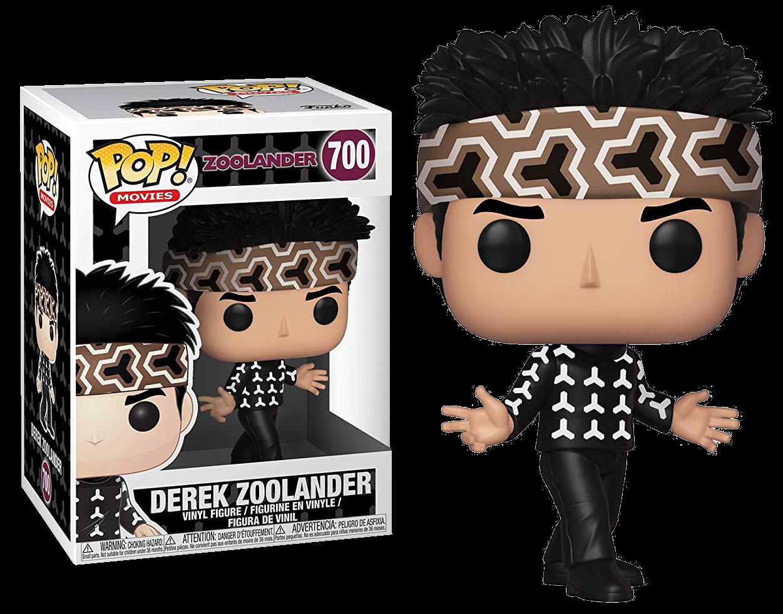 Derek 700 36420 In stock Movies Zoolander Funko Pop
