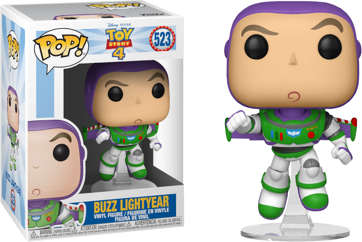 Disney Pixar Toy Story Buzz Lightyear Funko Pop Vinyl Figure