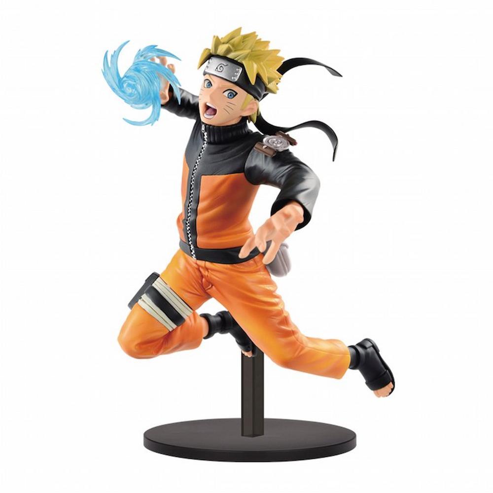 Banpresto Naruto Shippuden Vibration Stars Uzumaki Naruto Pvc Statue