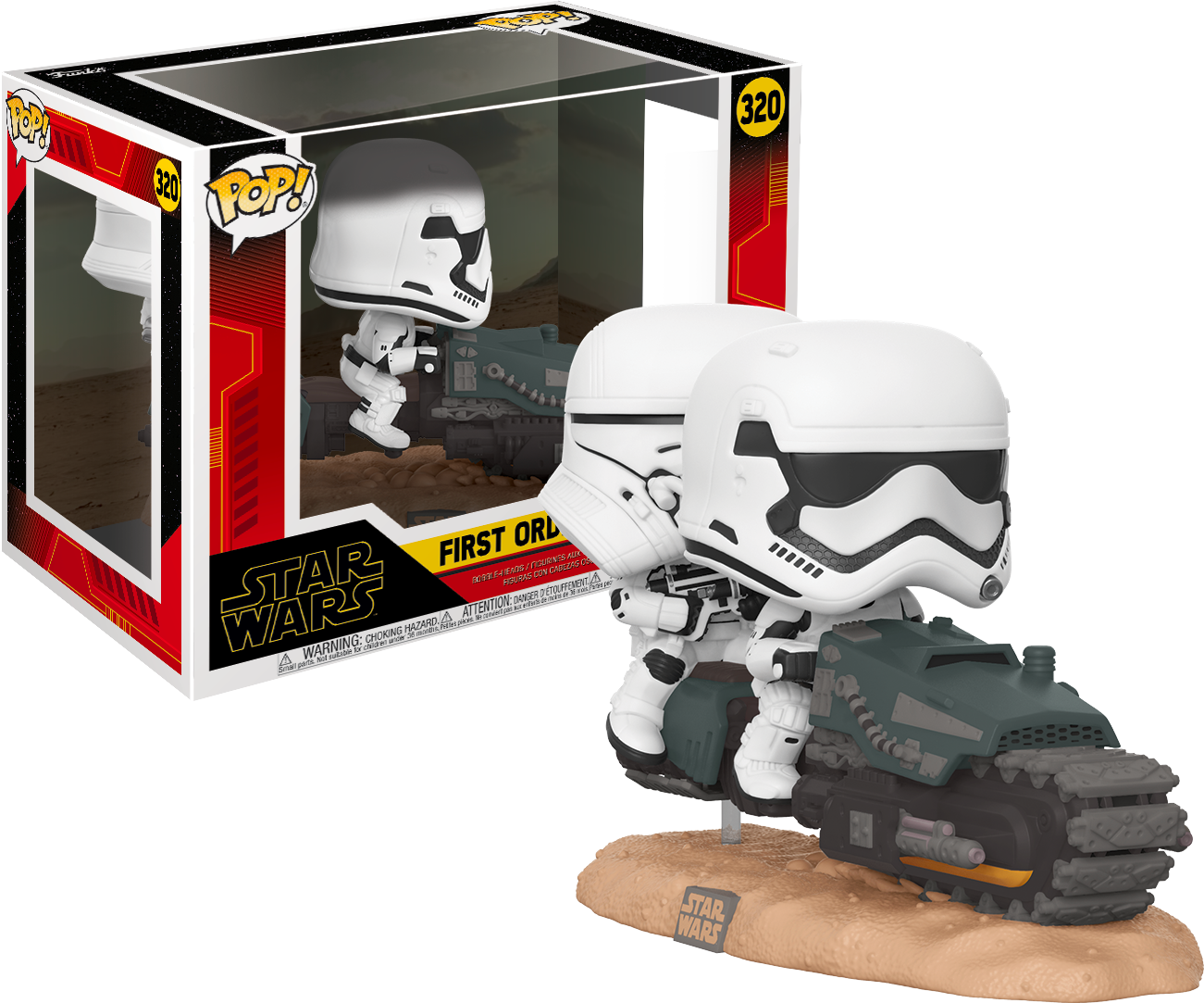 Movie Moment Star Wars Rise Of Skywalker First Order Tread Speeder Oversized Funko Pop Vinyl Figure Pop Addiction Funko Pop Collectables Merchandise Comics And Much More From The Geek World