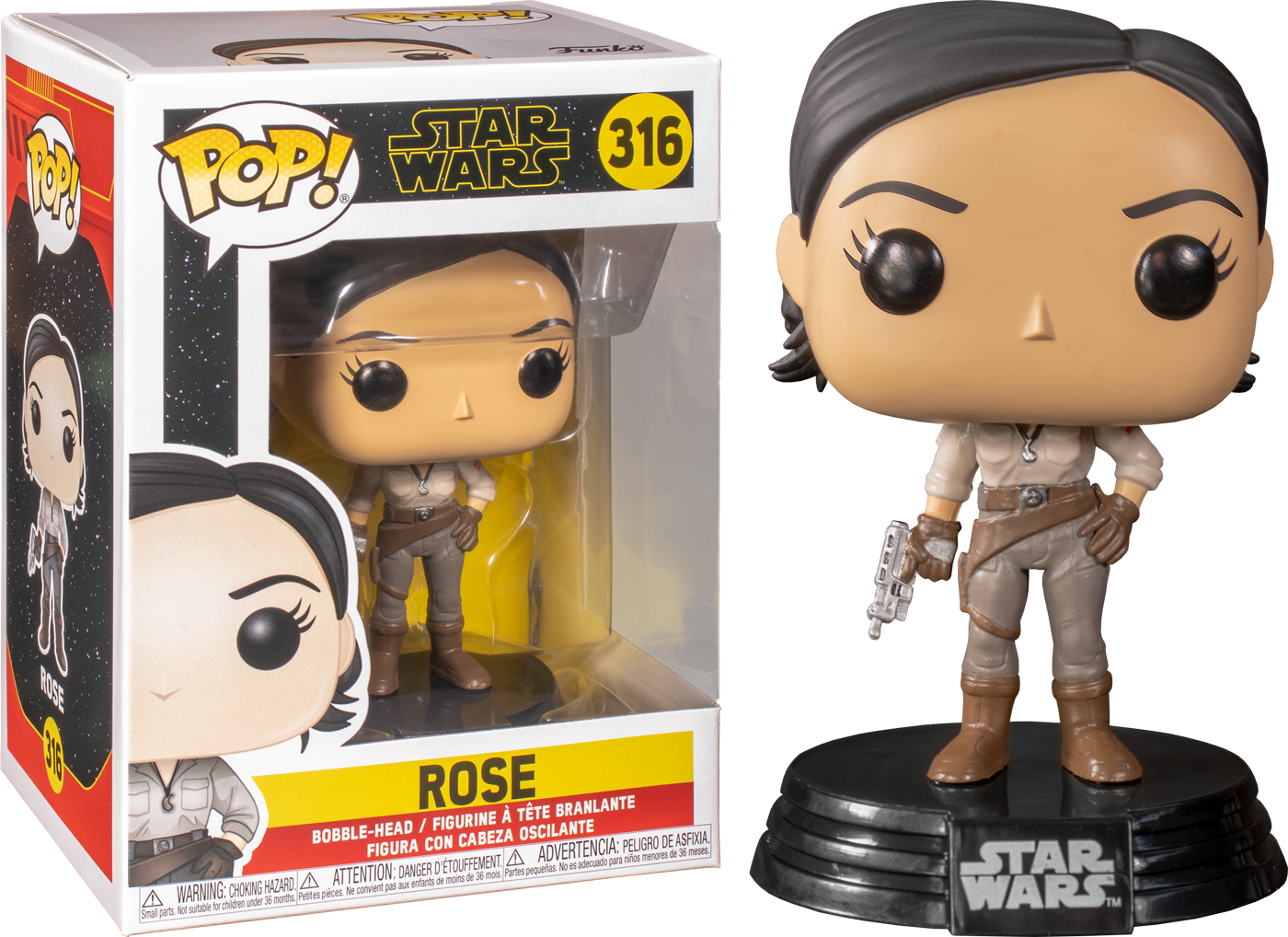 Star Wars Rise Of Skywalker Rose Funko Pop Vinyl Figure Pop Addiction Funko Pop Collectables Merchandise Comics And Much More From The Geek World